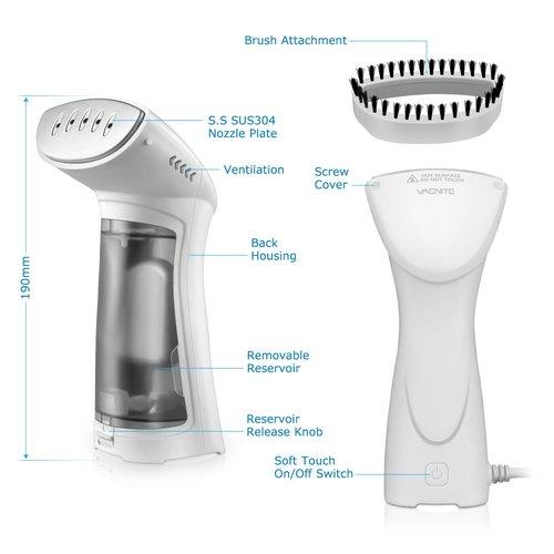 Cepillo de vapor vertical VACNITE